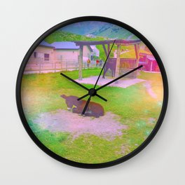 Clever Donkey Wall Clock