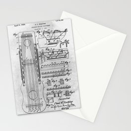 Stringed musical instrument Stationery Cards
