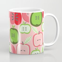 Retro Apples Coffee Mug