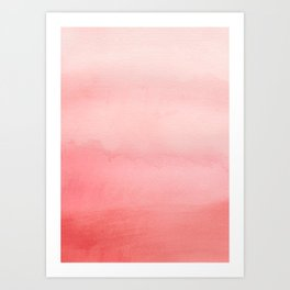 Shades of Red 2 Art Print