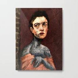 Les Miserables- Fantine Metal Print