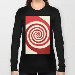 Strawberries and cream swirl Long Sleeve T-shirt