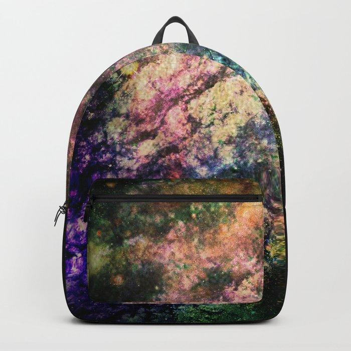 Cotton Candy Nebula Backpack