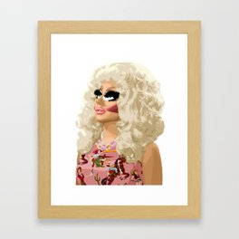 Trixie Mattel, RuPaul's Drag Race Queen Framed Art Print