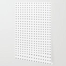 Black Plus on White /// www.pencilmeinstationery.com Wallpaper
