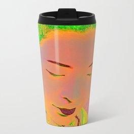 Geisha Pop Art Travel Mug