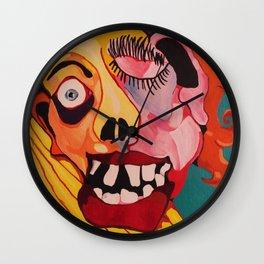 Portrayal Wall Clock