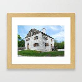 Phillipsburg Manor, Sleepy Hollow NY Framed Art Print
