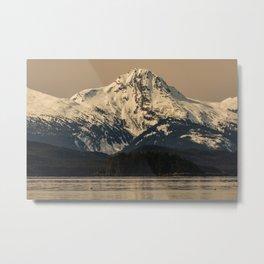 Chilkat Mtn Metal Print