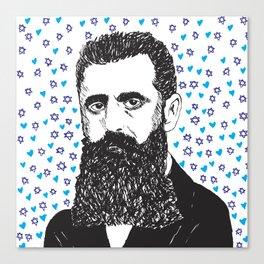Theodor Herzl Canvas Print
