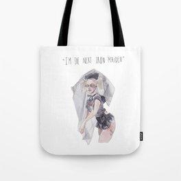 next iron maiden Tote Bag
