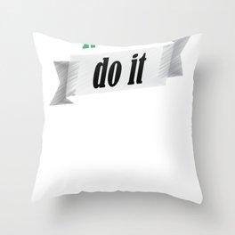 Funny italians do it better italian pride shirt Throw Pillow