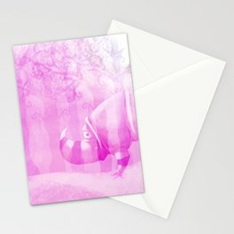 Ghostly Rhino Stationery Cards