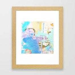 jg Framed Art Print