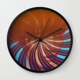 Eye Will Travel Far to See You Wall Clock