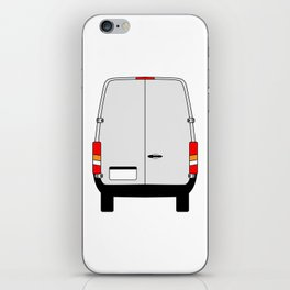Small Van Back Doors iPhone Skin