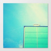 instagram Canvas Prints featuring Instagram by Olivier Morisse
