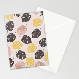 tropical pinks Stationery Cards