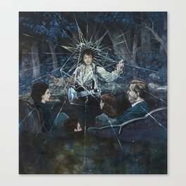 Crying in the Chapel Canvas Print