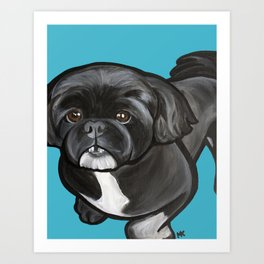 Mabel Louise Art Print