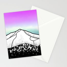 Whiteface mountain Stationery Cards