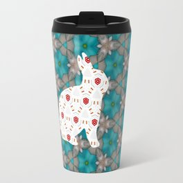 bunny strawberry Travel Mug
