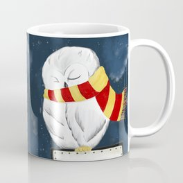 Sleepy Hedwig Coffee Mug