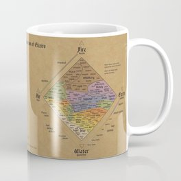 The Alchemist's Guide to Alcoholic Beverages Coffee Mug