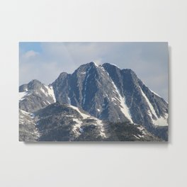 Good Morning Mountains Metal Print