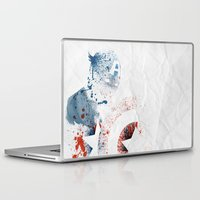 soldier Laptop & iPad Skins featuring The Soldier by Arian Noveir