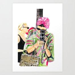 Princess Grace Art Print
