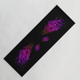 Fantastical Phosphorescent Foxglove Yoga Mat