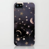 iPhone 5/5s Case featuring Constellations by Nikkistrange