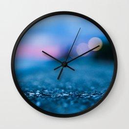 city lighting Wall Clock