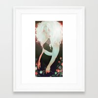 milk Framed Art Prints featuring milk by loish