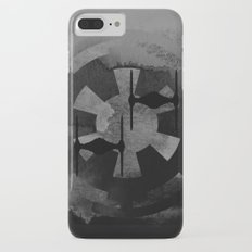 Galactic Empire Tie Fighters on Gray iPhone 8 Plus Slim Case