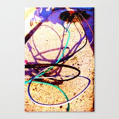 Down to the Wire Canvas Print