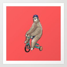 Haters Gonna Hate Sloth Art Print