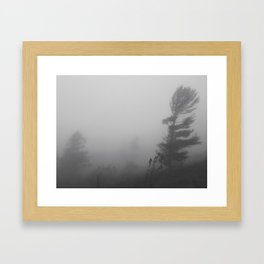 Wind's Haiku Framed Art Print