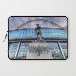 Booby Moore Statue Wembley Stadium Laptop Sleeve