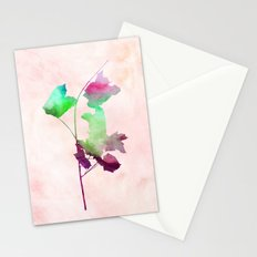 Maple_Watercolor2 by Jacqueline and Garima Stationery Cards