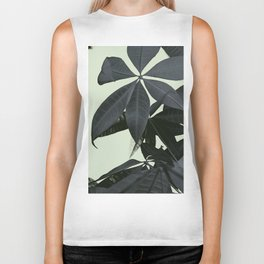 Pachira Aquatica #3 #foliage #decor #art #society6 Biker Tank
