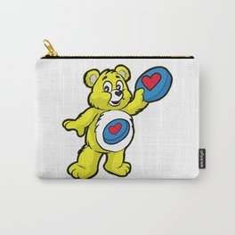Ultimate FRISBEE TEDDY BEAR Catch funny Carry-All Pouch