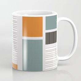 Mid Century Modern Panels Coffee Mug