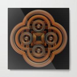 Metal Symmetry Metal Print