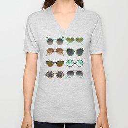 Sunglasses Collection – Mint & Tan Palette Unisex V-Neck