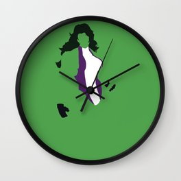 Jennifer Walters Wall Clock