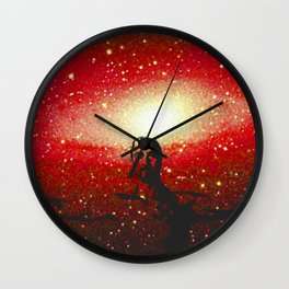 Life's too short to be pissed off all the time Wall Clock