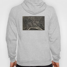 Vintage Map of The Shiloh Battlefield (1917) Hoody