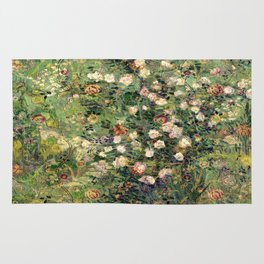 Vincent and William's Roses Rug